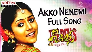 Akko Nenemi Full Song II The Bells Movie II Rahul, Neha Deshpande - ADITYAMUSIC