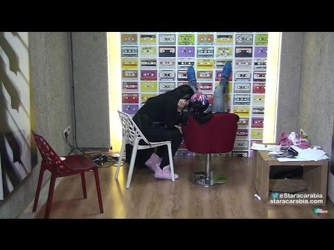 حنان الخضر تراضي رافاييل جبور بعد سوء التفاهم بينهما - ستار اكاديمي 11 - 22/12/2015