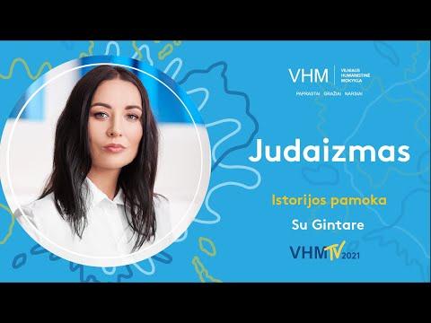 Vilniaus humanistinė mokykla. Istorijos pamoka (2–6 kl.). Judaizmas