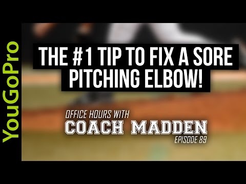 The #1 Tip to FIX a Sore Elbow!  [Office Hours with Coach Madden] Ep.89