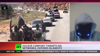 We take down hundreds of ISIS sites, fight w/o guns - 'Anonymous' hacker - RUSSIATODAY