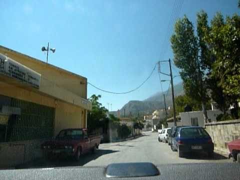 Way to Kato Asites Crete - Δρόμος προς τις Κάτω Ασίτες Κρήτη