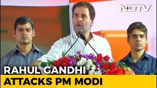 """He Can't Look Me In The Eye Because..."": Rahul Gandhi Jabs PM On Rafale - NDTV"