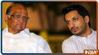 2019 LS polls: Parth Ajit Pawar to fight election from Uncle Sharad Pawar's Maval seat - INDIATV