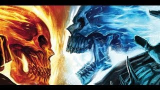 Ghost Rider Vs Ghost Rider Blue Youtube