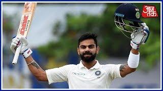 Virat Kohli Scores 18th Test Century, 50th In International Cricket Today - AAJTAKTV