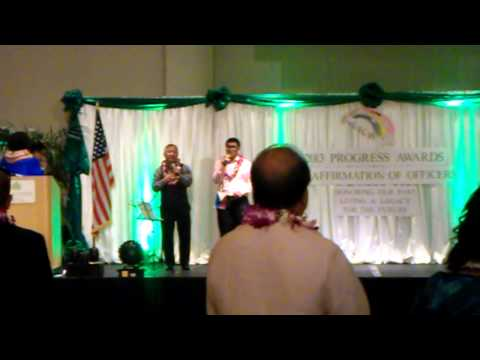 Lupang Hinirang, The Star-Spangled Banner, and Hawai'i Pono'i