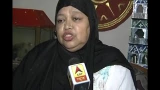 Lucknow: AIMPLB President Shaista Amber celebrates after SC's decision on Triple Talaq - ABPNEWSTV