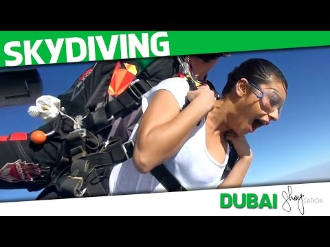 Skydiving in Dubai | Shaycation