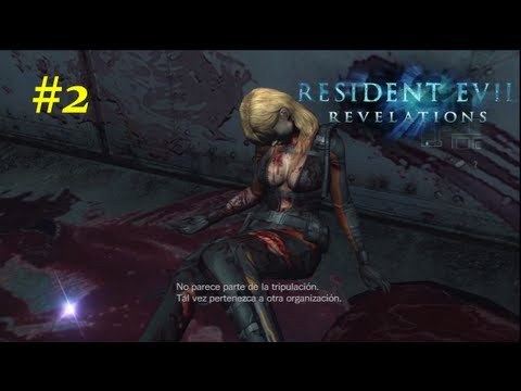 Resident Evil: Revelations HD Walkthrough - 02 - Capitulo 1 Ingles Sub Español *Huellas* PS3/360