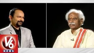 Innerview with BJP MP Bandaru Dattatreya - V6NEWSTELUGU