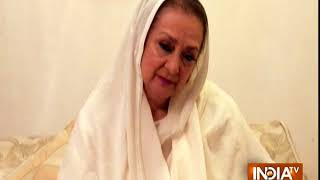 Veteran actress Saira Banu requests meeting with PM over threats from land mafia - INDIATV