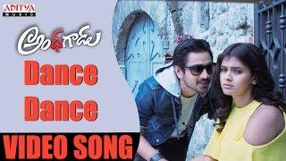 Dance Dance Full Video Song   Andhagadu Video Songs   Raj Tarun, Hebah Patel   Sekhar - ADITYAMUSIC