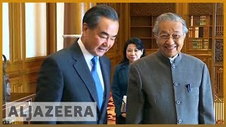🇲🇾 Malaysia's PM Mahathir Mohamad in China for bilateral talks | Al Jazeera English - ALJAZEERAENGLISH