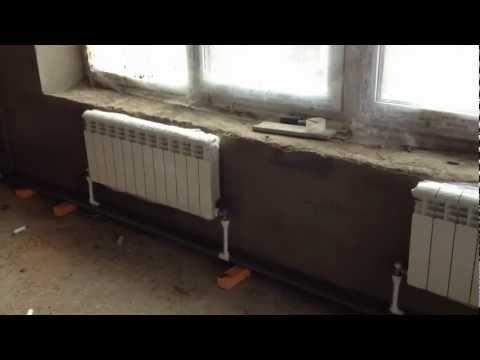 Отопление дома ютуб