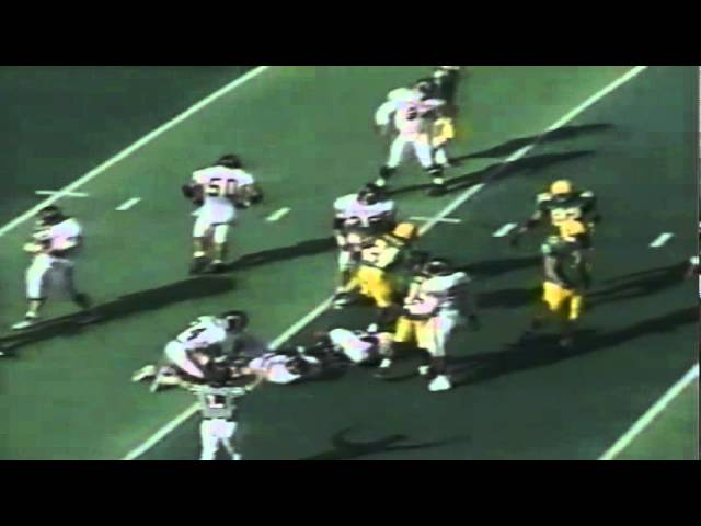 Oregon RB Kevin Parker 16 yard run vs. Pacific 10-07-1995