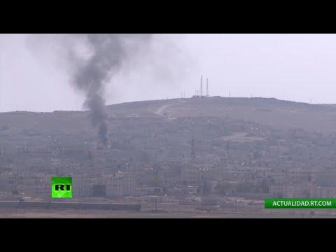 EN DIRECTO: Combates en la frontera turco-siria, cerca de la ciudad Kobani