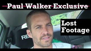 Publican video inédito de Paul Walker manejando a velocidad