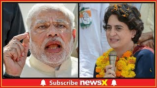 Priyanka Gandhi Ganga Yatra In UP, Demands  5 Year Report Card Of Narendra Modi Govt. - NEWSXLIVE
