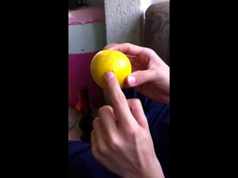 Tutorial pipa natural con una naranja