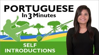 Learn Portuguese – How to Introduce Yourself in Portuguese (Brazilian)