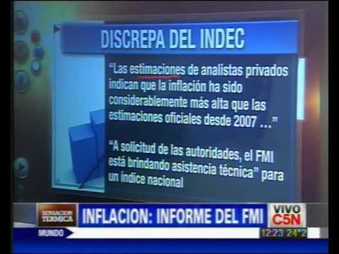C5N - INFLACION: INFORME DEL FMI