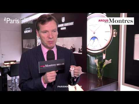 Baselworld 2013. Mr. Peter Stas - ArgusDesMontres video interview