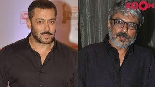 Sanjay Leela Bhansali OPENS UP on his equation with Salman Khan - ZOOMDEKHO