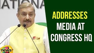 Pramod Tiwari Addresses Media at Congress HQ | Political News Updates | Mango News - MANGONEWS