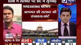 Delhi government formation: SC terms L-G's move 'positive', adjourns hearing to Nov 11 - ITVNEWSINDIA