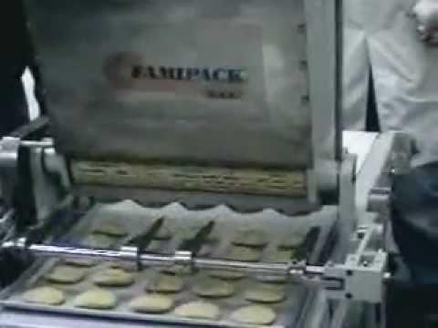 BISCOMATIC, maquina galletera por corte de alambre