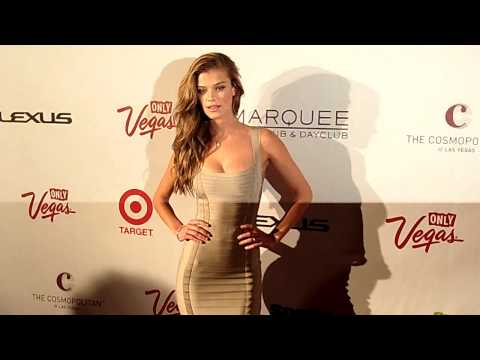 Nina Agdal Sports Illustrated Swimsuit Model 2013 Marquee Nightclub Vegas 2-13-13