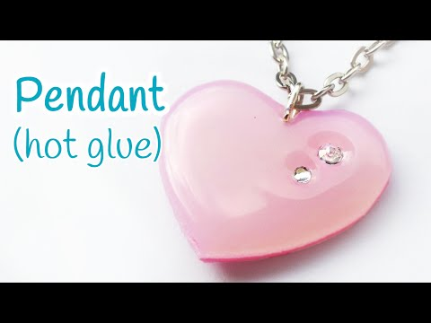 DIY crafts: PENDANT (hot glue) EASY - Innova Crafts
