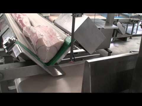 SIERRA DE CINTA EN ACERO INOXIDABLE MODELO B70-XL CON ALIMENTACIÓN TRANSVERSAL
