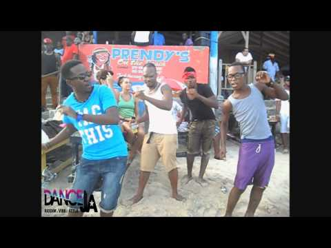 Best Jamaican Beach Vibe + DANCEHALL Dancing to R&B Music + Elastic Man