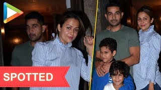 SPOTTED: Amrita Arora with family at Bandra - HUNGAMA