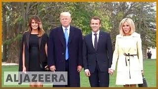 🇫🇷 🇺🇸 France's Macron begins first state visit with Trump | Al Jazeera English - ALJAZEERAENGLISH