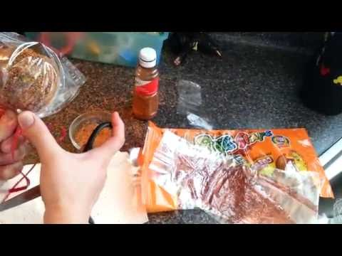 Manzanas cubiertas de tamarindo y chile :)