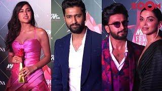 Femina Beauty Awards 2019 Red Carpet | Sara Ali Khan, Ranveer Singh, Vicky Kaushal, Deepika Padukone - ZOOMDEKHO
