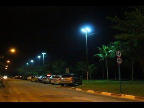 TV Costa Norte - Orla da Praia da Vista Linda é iluminada