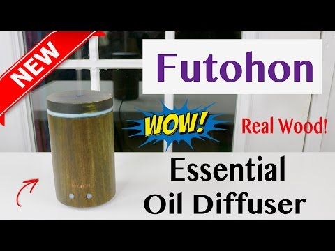 😍  FUTOHON  Real Acacia  Aromatherapy Essential  Oil  Diffuser - Review ✅