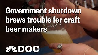 Government Shutdown Brews Trouble For Craft Beer Makers | NBC News - NBCNEWS