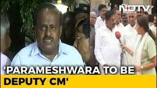 G Parameshwara To Be Karnataka Deputy Chief Minister, Says HD Kumaraswamy - NDTV