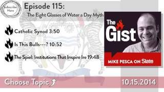 The Eight-Glasses-of-Water-a-Day Myth - SLATESTER
