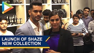 MUST WATCH: CUTE Couple Neha Dhupia & Angad Bedi at Launch of Shaze New Exclusive Collection - HUNGAMA