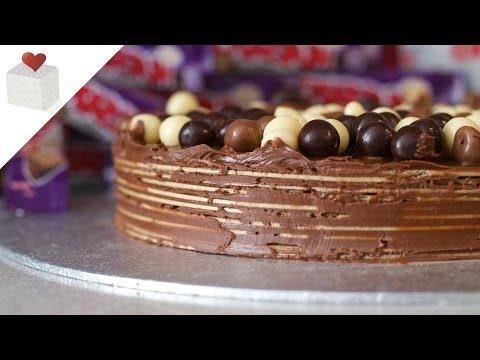 Tarta express de nutella y obleas de barquillo | Recetas rápidas por Azúcar con Amor