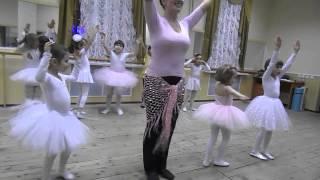 Открытый урок детской хореографии в студии восточных танцев