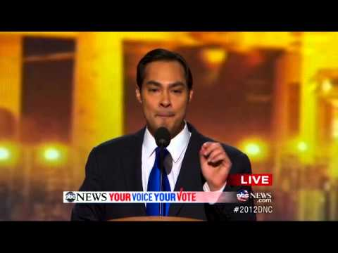 San Antonio mayor praises President Obama's support for Pell grants, DREAM Act. For more: http://abcnews.go.com/Politics/democrats-keynote-speaker-san-antonio-mayor-julian-castro/story?id=17148763