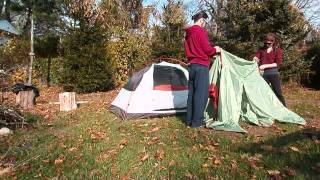 & Alps Mountaineering Lynx 2 Set up and Breakdown Only - YouTube