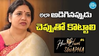 Jeevitha About Women Strength || Heart To Heart With Swapna - IDREAMMOVIES